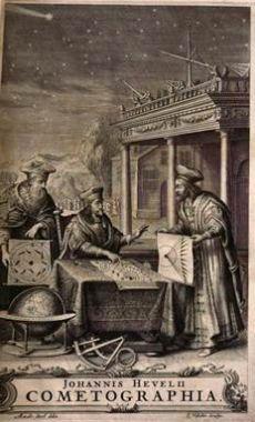 Almagestum novum a Cometographia